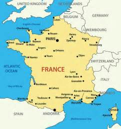 France World Map by France Facts For Kids Facts About France And The French
