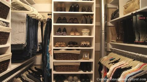 closet makeovers master closet makeover part 1 confessions of a serial