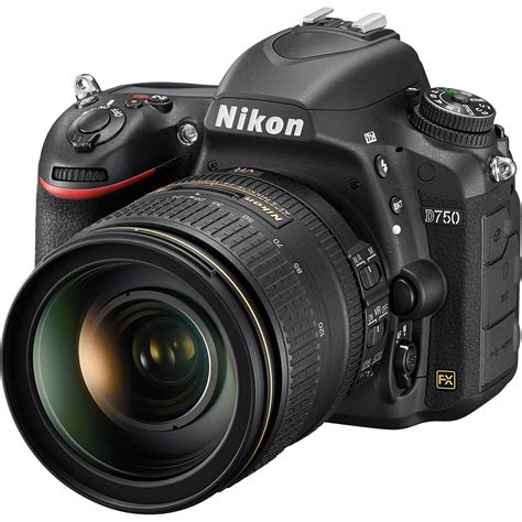 nikon d750 dslr with 24 120mm lens 1549 b h photo