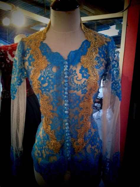Kebaya Bordir Kebaya Payet Kebaya Modifikasi Kebaya Katun Batik kebaya warna biru pink 2015 newhairstylesformen2014