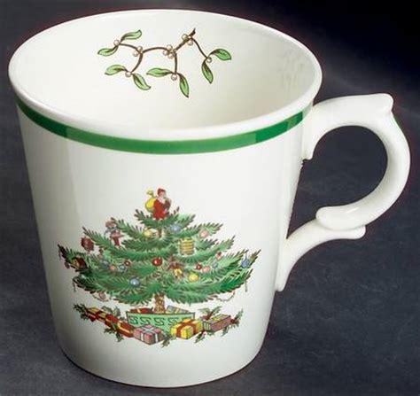 spode christmas tree candy cane handle mugs spode mug spode tree grove coffee mug with