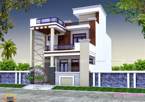home design in 50 yard 24x55 house plan kerala home design and floor plans