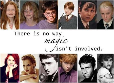 after cast harry potter actors before and after books