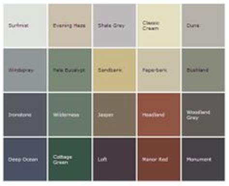 1000 images about house colours on dune steel roofing and exterior paint