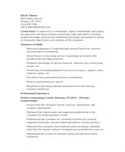 sle esthetician resume new graduate cosmetology resume template 5 free word pdf documents