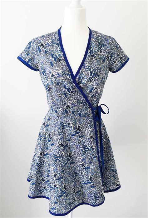 free pattern wrap dress part 4 final mccalls patterns m6959 sew along wrap