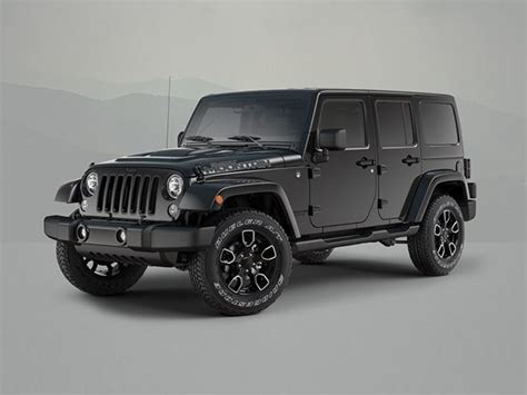 Jeep Wrangler Special Edition Jeep Wrangler Special Editions Marks End Of Generation
