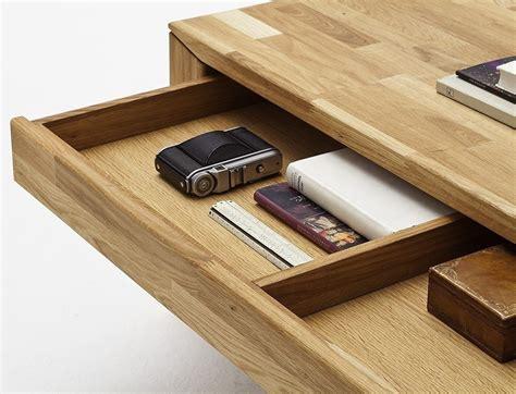 tiroir table table basse chene pas cher le bois chez vous