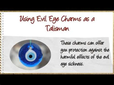 the meaning of evil eye charms