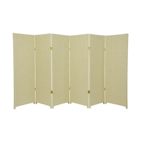 lowes room dividers shop furniture room dividers 6 panel folding indoor privacy screen at lowes