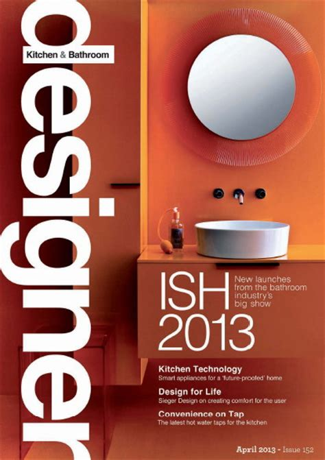 designer kitchen and bathroom magazine designer kitchen bathroom magazine april 2013 187 pdf