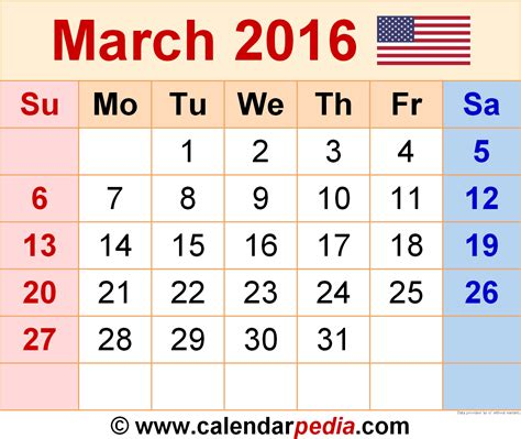 2016 march month calendar printable printable calendar march 2016 calendar printable one page 2017 printable