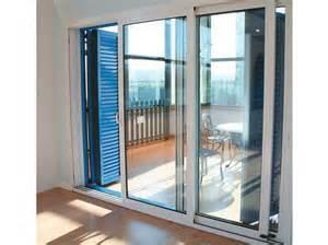 porte fen 202 tre coulissante en aluminium avec vitrage