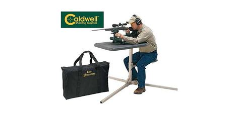 caldwell shooting bench caldwell 174 stable table 174 shooting bench cabela s