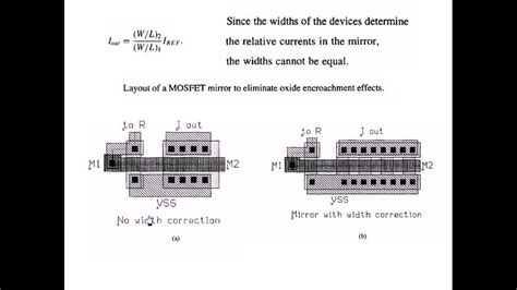 analog integrated circuit design ken martin pdf layout mismatches in simple current mirror