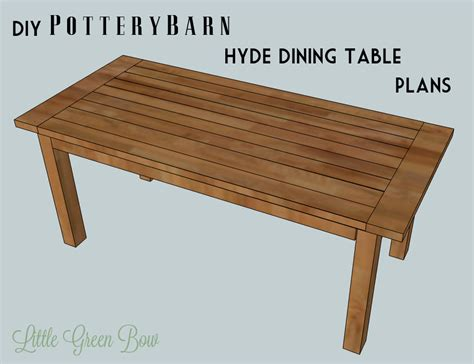 diy dining table plans  woodworking