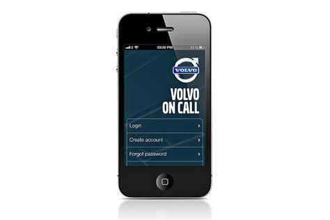 volvo on call app f 252 r paketlieferung bilder autobild de