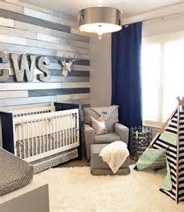 metallic wood wall nursery project nursery