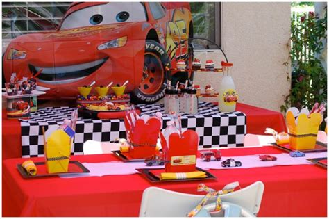 car themed decorations real disney s cars 2 screening pizzazzerie