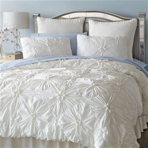 Ruched Bedding by Neutrals Bedding Decor By Color