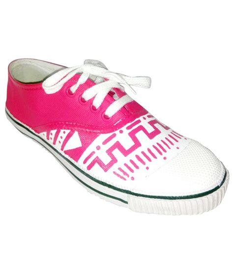 funky n trendy pink white casual shoes price in india