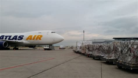 air partner delivers united nations aid to central republic air cargo week