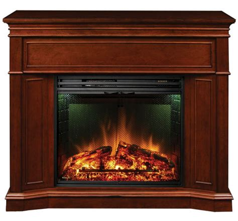Fireplaces Canada by Electric Fireplace With Corner Option And 28 Inch