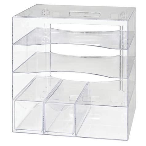 rubbermaid optimizer 4 way organizer with drawers grand