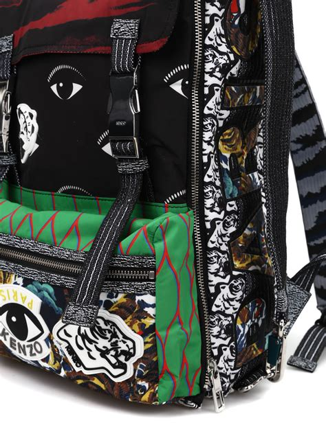 Printed Backpack printed backpack by kenzo backpacks ikrix