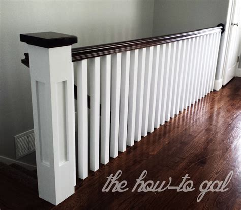 Building A Banister by The How To Gal Memoirs Of A Banister