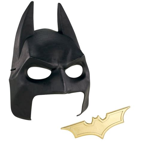 How To Make Paper Batman Mask - batman rises cowl mask and batarang gear