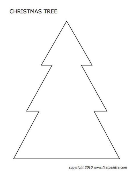 printable large christmas tree template 7 amazing snowflake templates