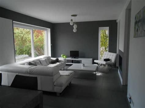 salon design gris noir blanc obasinc
