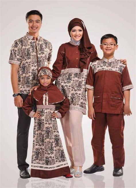 Baju Setelan Batik Kebaya Muslim Pakaian Pesta Set Sorja Dusty Baru gambar baju muslim batik keluarga terbaru desain