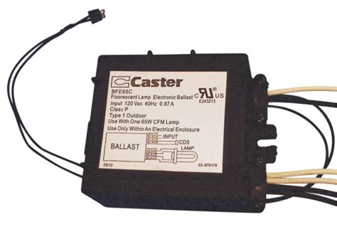 Caster Fluorescent L Electronic Ballast by Bfe65c Caster Ballast With Photocell Ballastshop