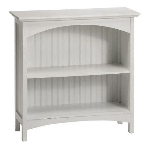 white two shelf bookcase white beadboard 2 shelf bookcase tree shops