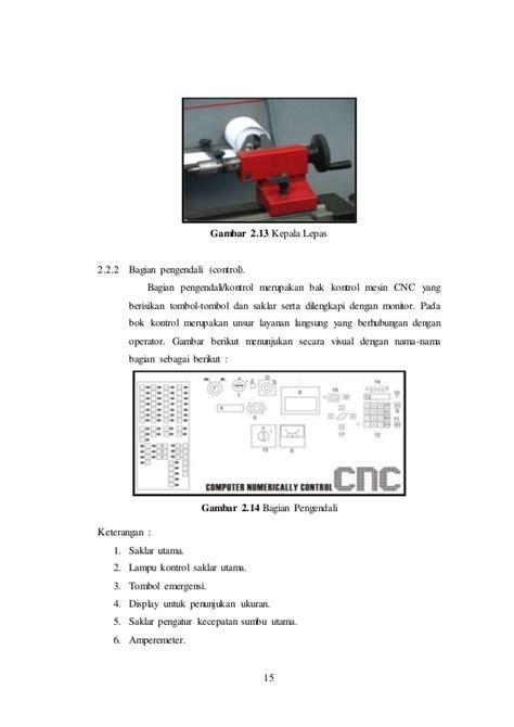 Senter Putar laporan akhir praktikum cnc