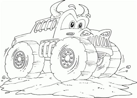 coloring pages online trucks get this online monster truck coloring pages 82297