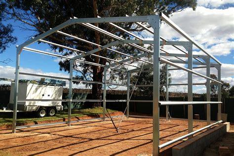 steel garages  sheds  sale ranbuild