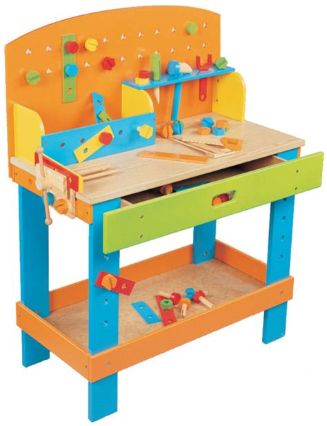 kids woodworking bench wooden toy workbench how to build a amazing diy