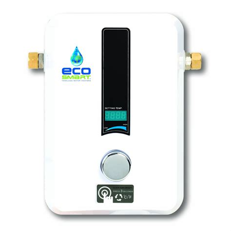 mobile home tankless water heater ecosmart 11 electric tankless water heater