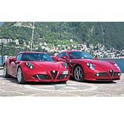Faszination Der Alfa Romeo 4C Trifft Den 8C Competizione