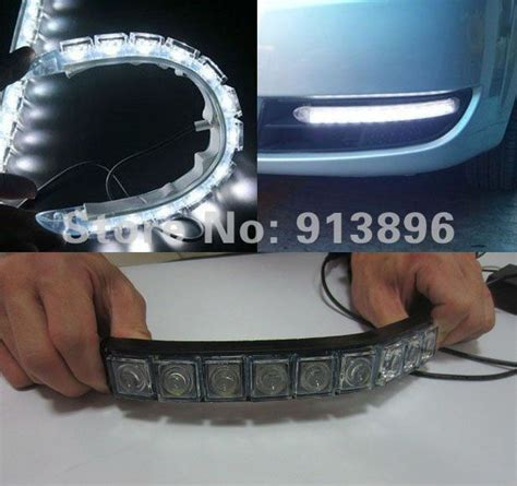 led len auto buy 60cm led headlight dual color turn signal car