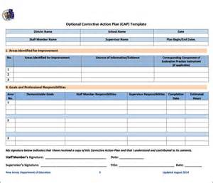 corrective action plan template 20 free word excel pdf