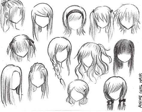girl hairstyles manga anime hairstyles on pinterest anime hair anime eyes and