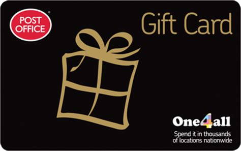 Post Office One4all Gift Card - john lewis partners with gift card company one4all