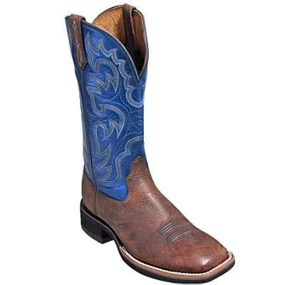 ariat boots s 10002223 blue brown 13 inch cowboy boots