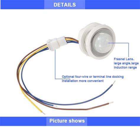 Led Intelligent Infrared 26mm t 3003 led intelligent infrared human sensing probe induction high sensitive switch