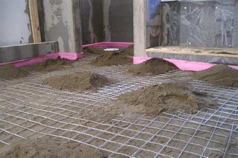 mortar bed floor leveling c 233 ramiques hugo sanchez inc
