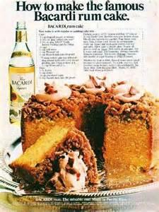 bacardi rum cake recipes pinterest
